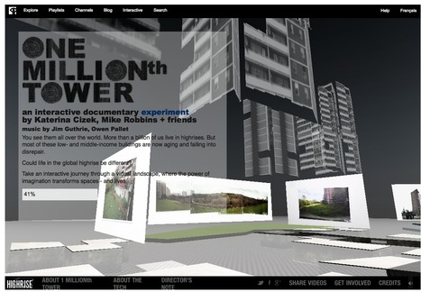 Premiere: One Millionth Tower High-Rise Documentary Takes Format to New Heights | Video for Learning | Scoop.it