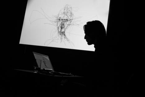 Artist Draws Detailed Portraits With ONLY His Eyes | WIRED | Le BONHEUR comme indice d'épanouissement social et économique. | Scoop.it