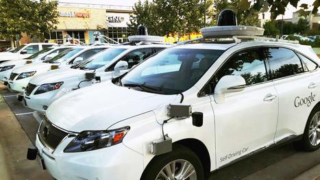 La Google Car responsable d'un accident pour la première fois   Post-Sapiens, les êtres technologiques   Scoop.it