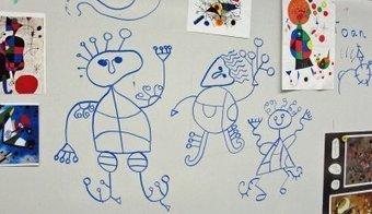 Deep Space Sparkle – Joan Miro Art Project | Artists for Elementary Art | Scoop.it