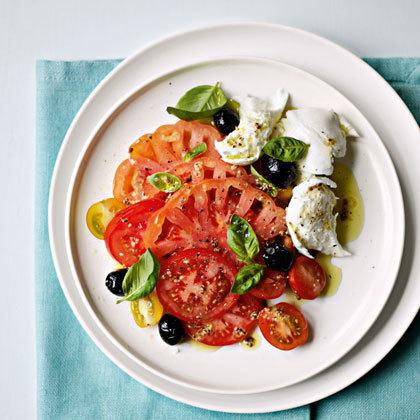 Mozzarella and Tomato Salad | favourite recipes | Scoop.it