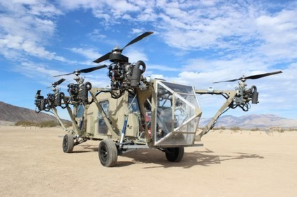Helicopter-Truck Hybrid Is Every General's Wet Dream | Heron | Scoop.it