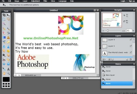 Photoshop Online Free Editor (Photo Editing With Awesomeness!) | Free Online Tools | Scoop.it