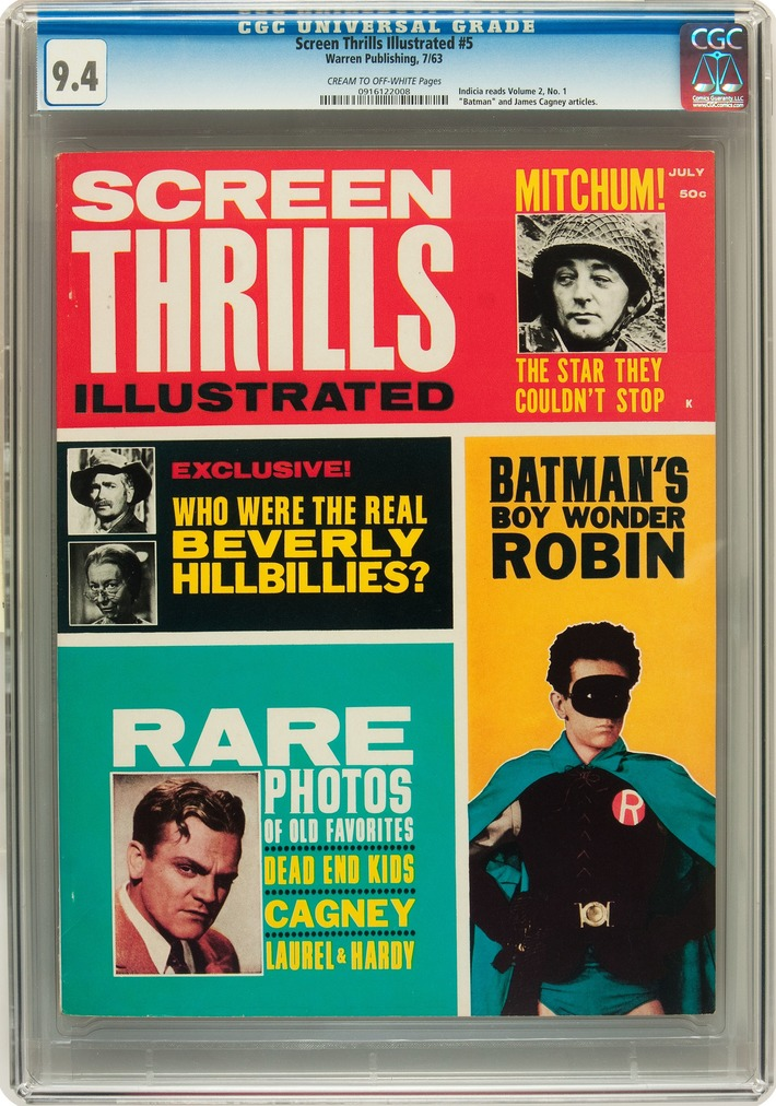 Screen Thrills Illustrated #5 (Warren, 1963) | Kitsch | Scoop.it