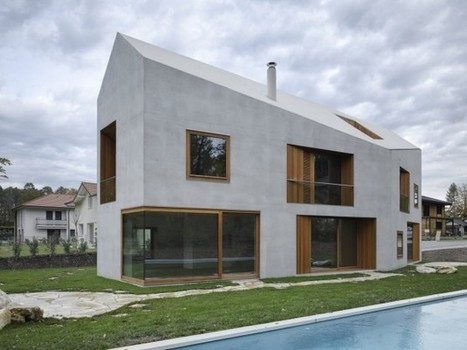 Two in one House by clavienrossier architectes. | Arquitectura: Unifamiliars | Scoop.it