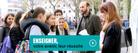Devenir Enseignant | Ressources en Sciences de l'éducation ESPE Centre Val de Loire | Scoop.it