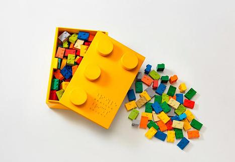 Nuevas piezas en Braille tipo lego que ayudan a los niños a leer mientras juegan | Salud Visual 2.0 | Scoop.it