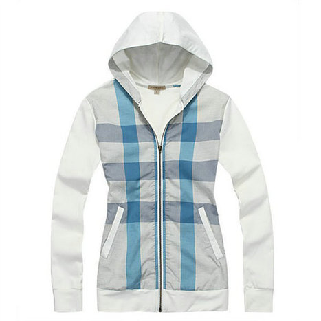 Burberry Hat Jacket Hoody White Front Blue Check | Burberry Shirts mens and  womens | Scoop.it