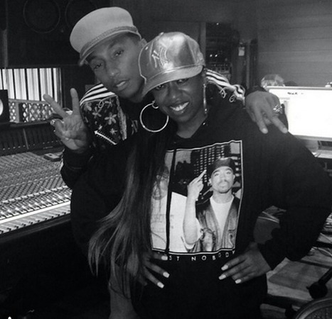 """Missy Elliott Previews """"WTF (Where They From)"""" Featuring Pharrell 