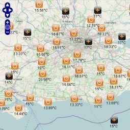 Open Weather Map actual and forecast weather. | geoinformação | Scoop.it