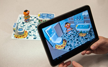 Augmented Reality Technology Brings Sesame Street Characters to Life | Augmented Reality in Education and Training | Scoop.it