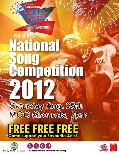 Belize National Song Competition is this Saturday and entrance is FREE | Things to do in Belize | Scoop.it