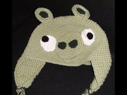 Crochet Geek - Free Instructions and Patterns: Crochet Pig Angry ... | Fiber Arts | Scoop.it