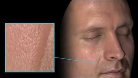 These Incredible Facial Scans Capture Detail Down to the Skin Cell | pixels and pictures | Scoop.it