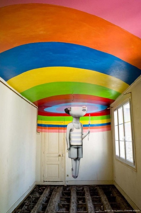 Fifty Street Artists Descend on Condemned Parisian Nightclub 'Les Bains'... | Art for art's sake... | Scoop.it