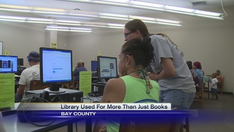 Bay County Library Visitors Check out more than Books | innovative libraries | Scoop.it