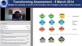 5 March 2014: Badges for Learning: a review of the formative role of badges in two open online courses | Transforming Assessment | Digital Badges and Alternate Credentialling in Higher Education | Scoop.it