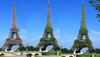 Tour Eiffel végétalisée : un bon coup de pub. | Architecture pour tous | Scoop.it