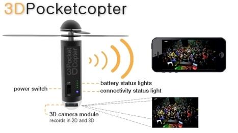 3D Pocketcopter - El sueño de volar hecho realidad virtual | Tecnología 2015 | Scoop.it