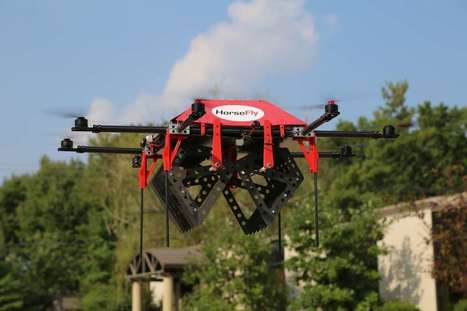 HorseFly: Truck-based drone delivery | Zero Moment | Cultibotics | Scoop.it