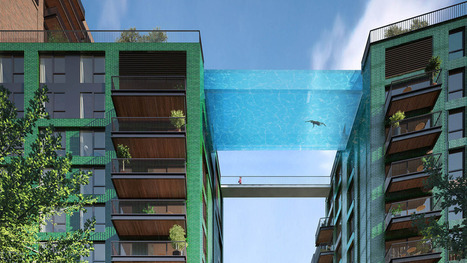 London's new 'sky pool' will let you live out your flying fish fantasies | Xposed | Scoop.it