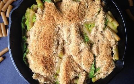 Creamy Baked Skillet Spinach Pasta [Vegan, Gluten-Free] | My Vegan recipes | Scoop.it