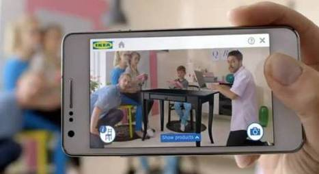 IKEA's AR Catalog Places Virtual Furniture In Shoppers' Homes [Video] - PSFK | Agile Retail | Scoop.it