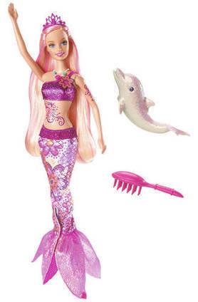 Barbie in A Mermaid Tale Merliah BarbieDoll   Les choix de Charlotte, 9 ans   Scoop.it
