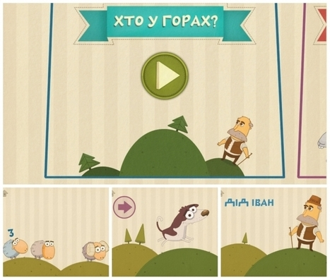 Три україномовні мобільні гри для дошкільнят - Tvoemisto.tv | BLENDED LANGUAGE LEARNING | Scoop.it