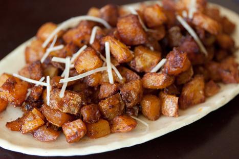 Parmesan Roasted Potatoes | Food for Foodies | Scoop.it