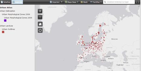 Urban Atlas for Europe — European Environment Agency (EEA) | mapstory | Scoop.it