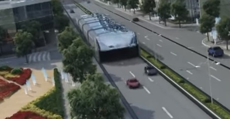 Can China's Futuristic 'Straddling Bus' Finally Become a Reality? | Inspired By Design | Scoop.it