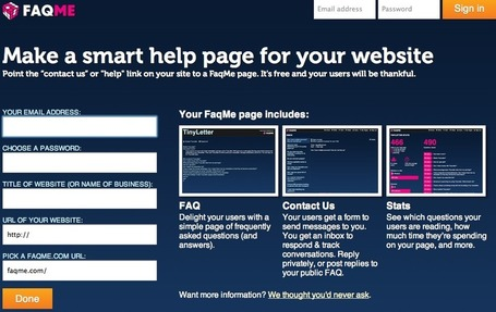 Make a free help page and FAQ for your website - FaqMe | The *Official AndreasCY* Daily Magazine | Scoop.it