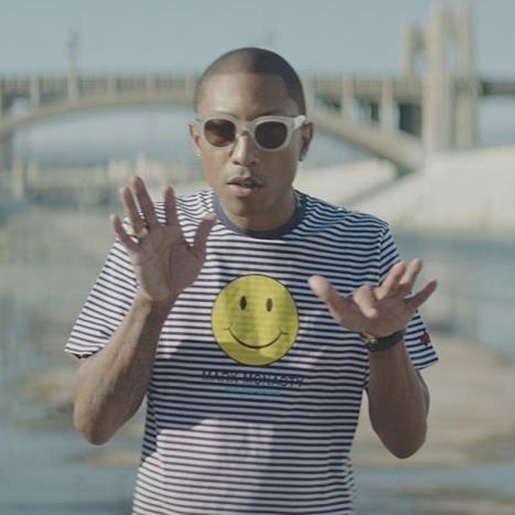Pharrell Williams - Happy | Creative Explorations | Scoop.it
