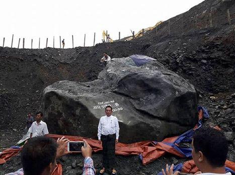 Myanmar giant jade stone 'too big to move' | enjoy yourself | Scoop.it