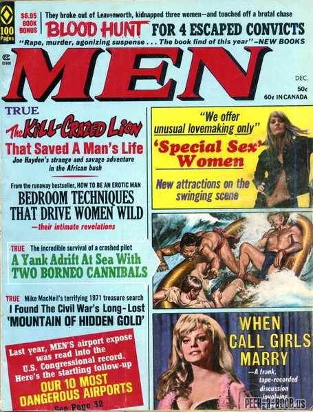 Peek-A-Boob: Men, December 1971 | Antiques & Vintage Collectibles | Scoop.it