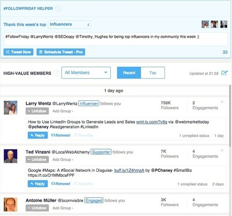 25 Ways to Use Twitter for Marketing | Mastering Facebook, Google+, Twitter | Scoop.it