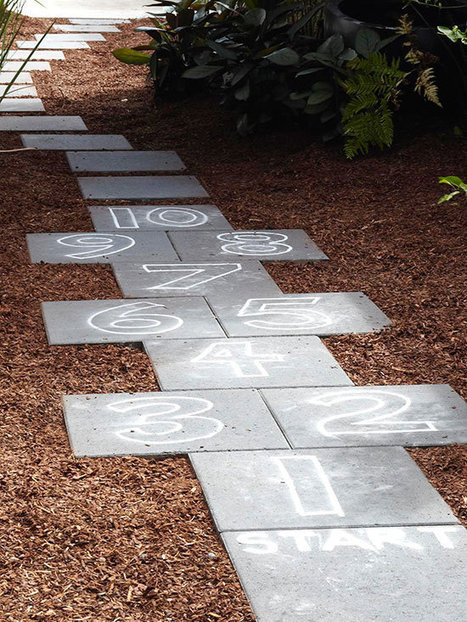 DIY Hopscotch Path | Landscape Creative Inspiration | Scoop.it