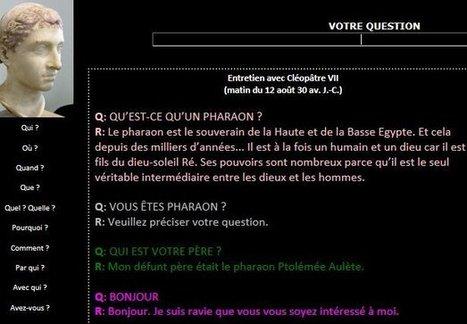 Histoire : Des dialogues virtuels, mais pour quoi faire ? | dilipem2012 | Scoop.it