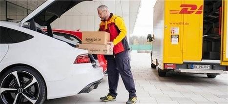 Amazon expérimente la livraison dans le coffre de voiture | CRAKKS | Scoop.it