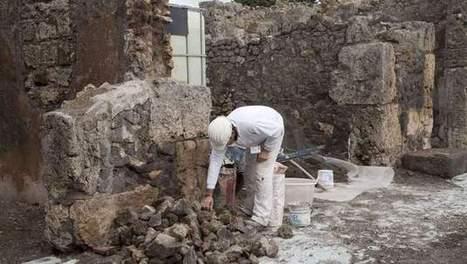 Inwoners Pompeï aten giraf als laatste avondmaal | KAP-JurakholovaM | Scoop.it