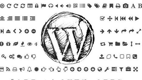 1000 icônes pour votre WordPress | Digitaleffects | Scoop.it
