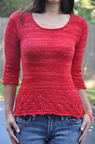 Elphaba Pullover pattern by Mary Annarella | Knit-of-the-Month Club | Scoop.it
