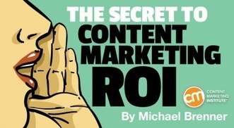 The Secret to Content Marketing ROI | Stratégie et Création de contenu | Scoop.it