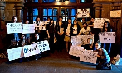 Glasgow becomes first university in Europe to divest from fossil fuels | Green IT | Scoop.it