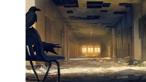 In the abandoned human school, ravens were learning to read | Strange days indeed... | Scoop.it