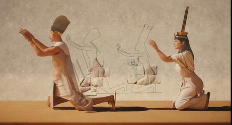 Amarna : la cité perdue d'Akhénaton en 3D | Sciences et Avenir | Kiosque du monde : Afrique | Scoop.it
