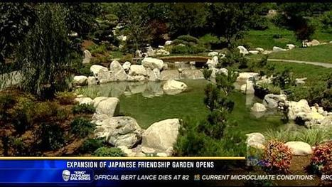 Newly expanded Japanese Friendship Garden opens in Balboa Park - KFMB News 8 | Japanese Gardens | Scoop.it