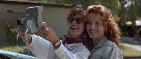 Le selfie de Thelma et Louise (1991) | Photography Now | Scoop.it