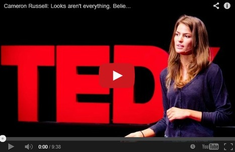 Looks aren't everything. Believe me, I'm a model. Inspiring talk by Cameron Russell   Social Networker   Scoop.it